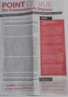 Journal des Communistes du Seignanx Mars 2016