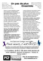 Le PCF de Tarnos appelle à voter