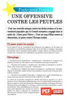 Pacte pour l'euro : une offensive contre les peuples