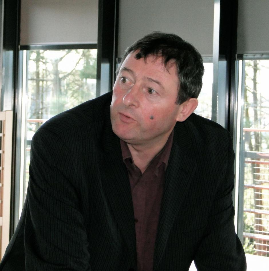 Alain BACHE, Président du groupe Front de Gauche au Conseil Régional d'Aquitaine